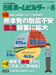 『日経ホームビルダー2016年8月号』掲載
